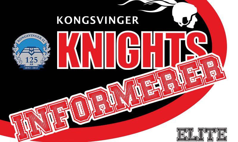 Brett Kilar går fra Knights